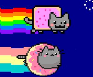 Pusheen Cat Wallpaper Google Search Pusheen Cat Cat Wallpaper Nyan Cat