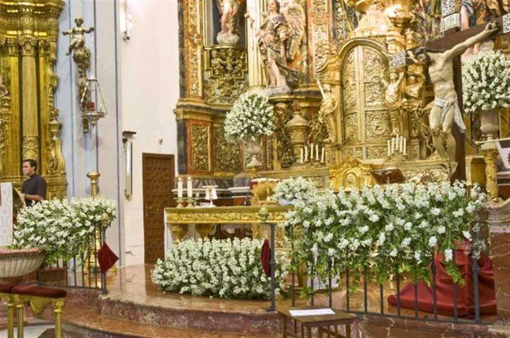 Decoraciones Para Altares De Iglesia Altar De Iglesia Con