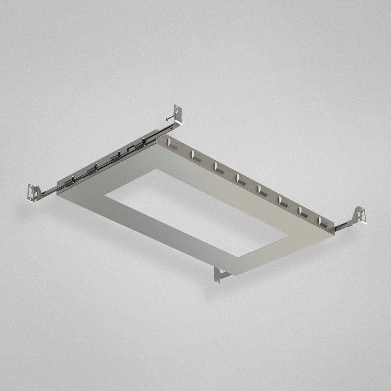 Eurofase lighting 24053 18 rectangular new construction plate eurofase lighting 24053 18 rectangular new construction plate recessed lights recessed accessories new construction plate aloadofball Images