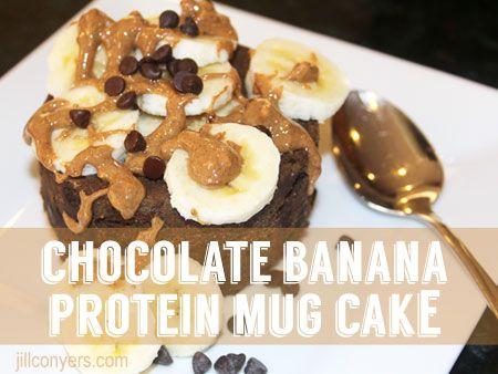 Protein Powder Egg White Mug Cake