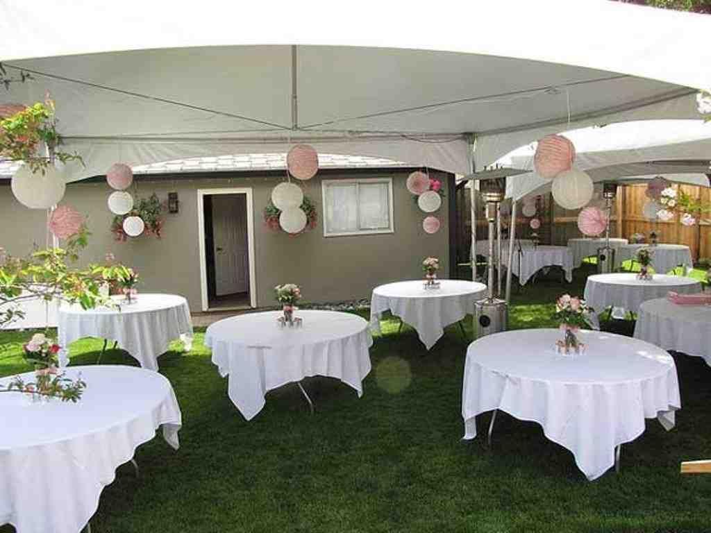 Small Backyard Wedding Ideas On A Budget | Backyard ...