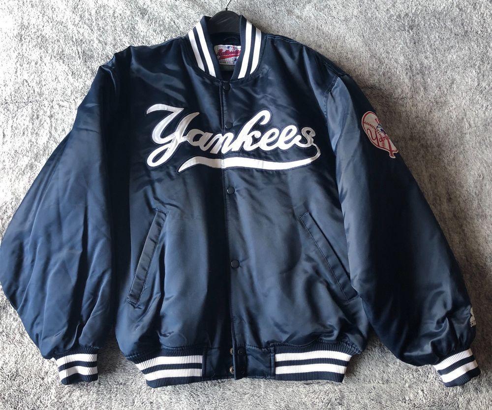 New York Yankees Starter Jacket World Series 1998 Champions Sz L New Never Worn Starter Bomber Newyorkyankees New York Yankees Yankees World Series [ 833 x 1000 Pixel ]