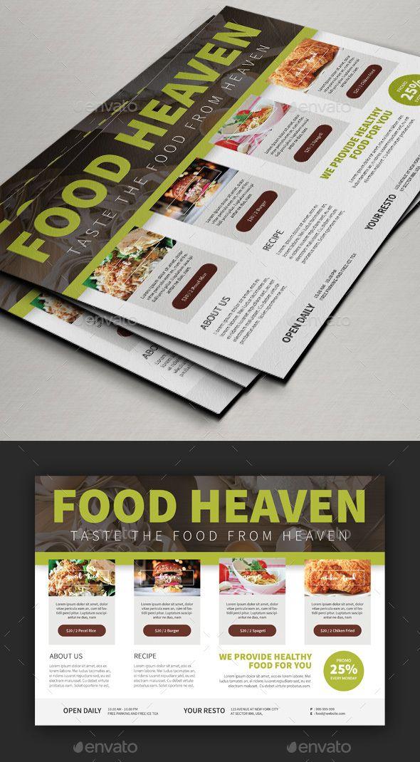 edit foods flyer templates v2 pinterest flyer template template