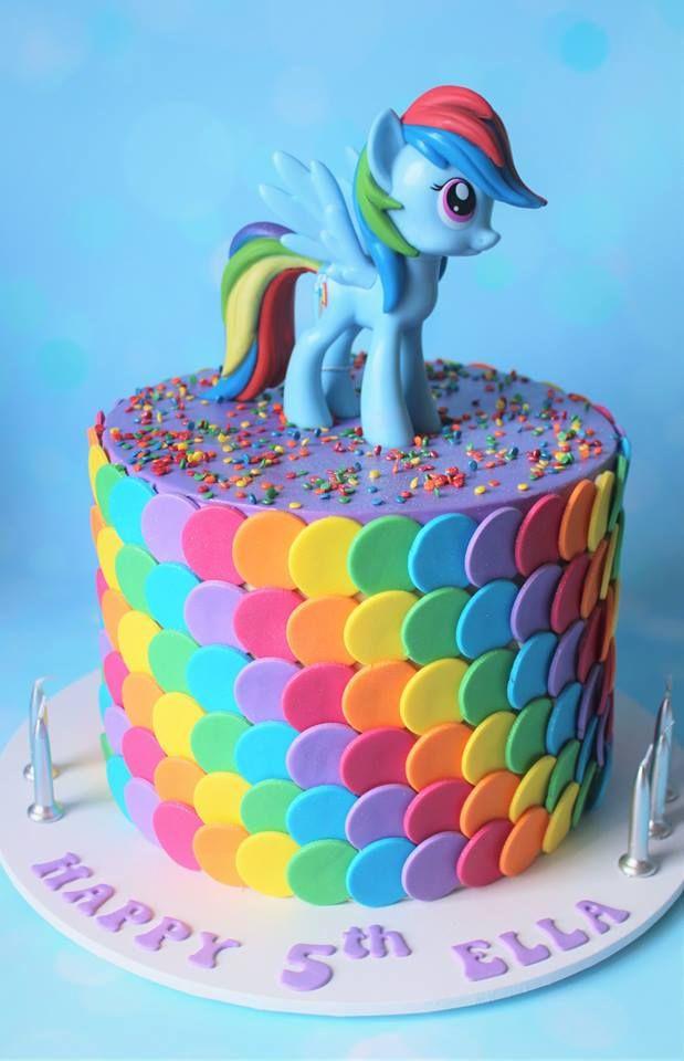 Admirable My Little Pony Cake Little Girl Birthday Cakes My Little Pony Funny Birthday Cards Online Ioscodamsfinfo