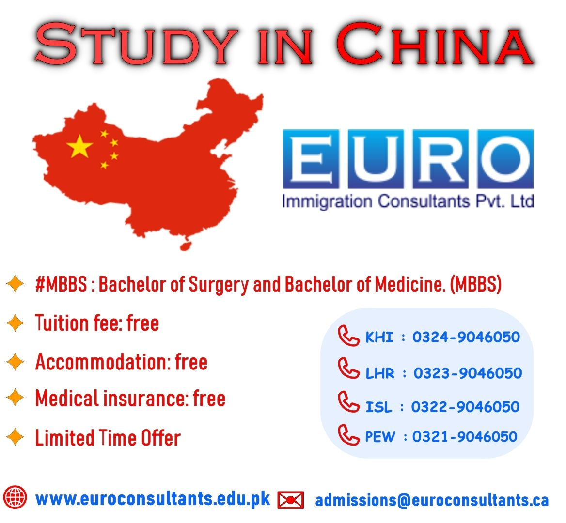 MBBS #NoTuitionFee #LimitedtimeOffer Bachelor of Surgery and