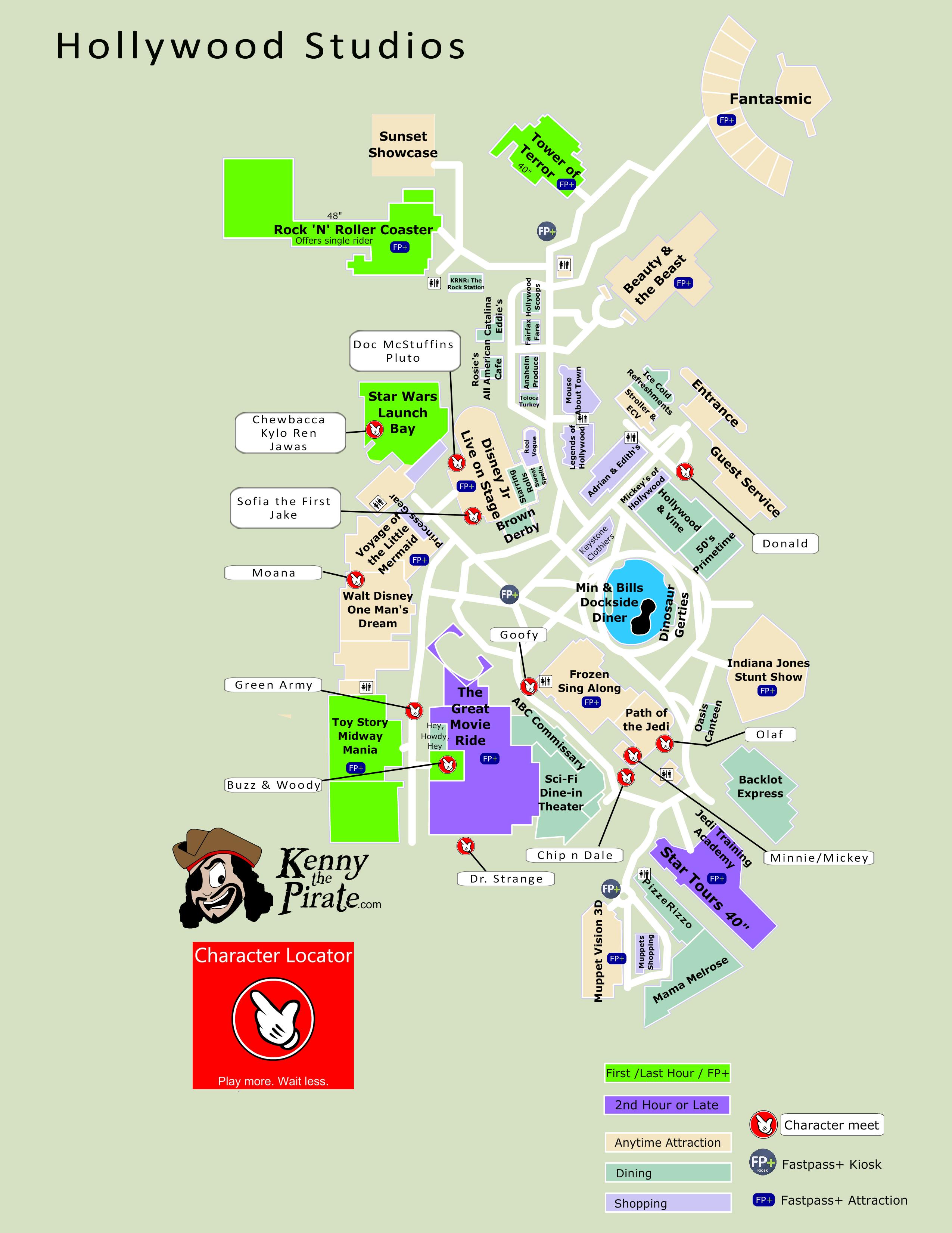 Disney World Map Hollywood Studios.Pin By Joanna White On Vacation Pinterest Hollywood Studios Map