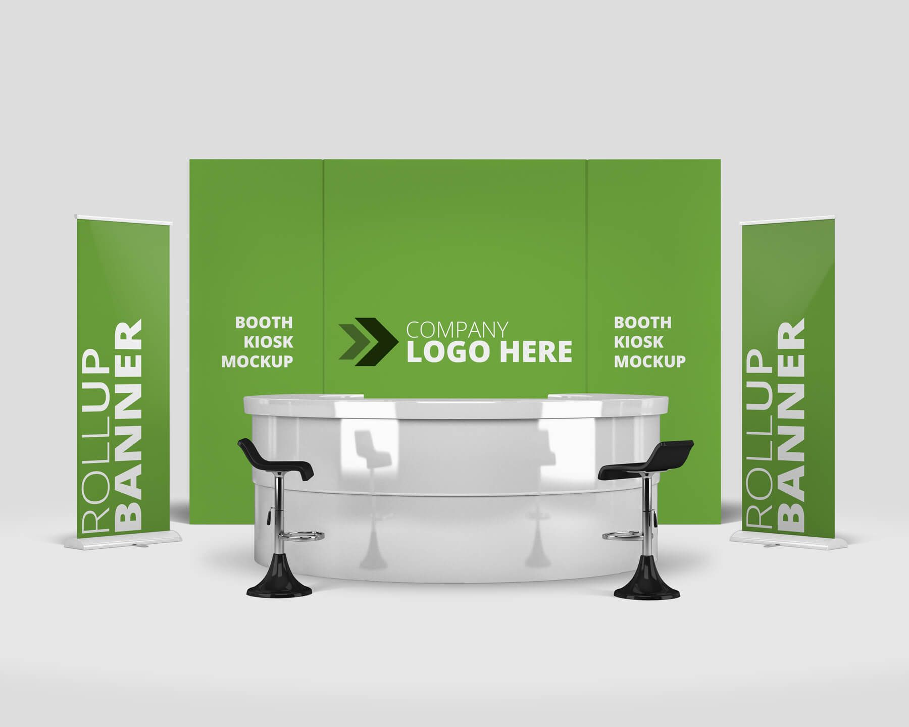 Exhibition Booth Psd : Customizable trade show exhibition booth mockups on