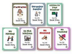 Social Stories Aim To Support Children Kindergarten Age And