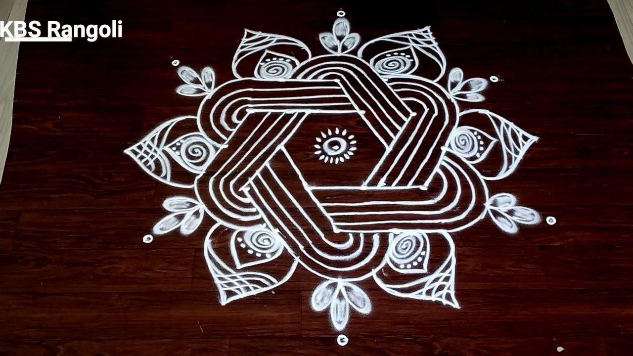 Sankranthi Special muggulu Designs2020 free hand