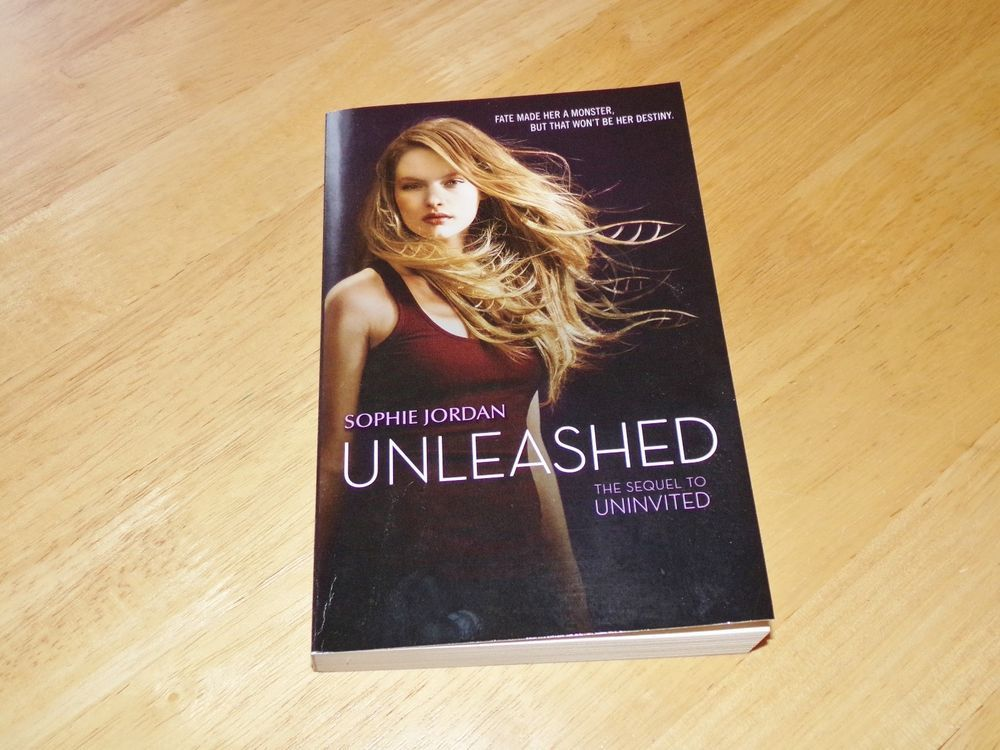 Unleashed By Sophie Jordan The Sequel To Uninvited Book Cover Books Unleash