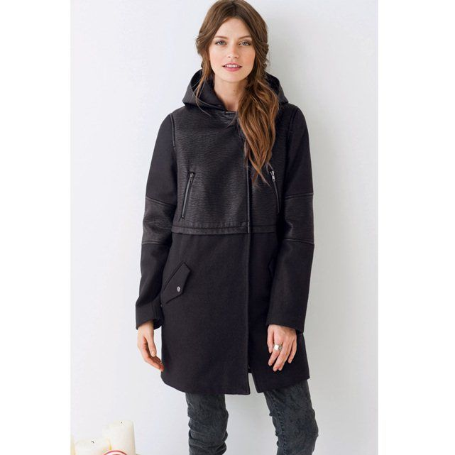 Manteau bi-matière SOFT GREY : prix, avis & notation, livraison. Le