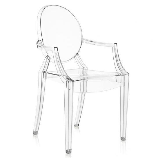 Ghost Stacking Patio Dining Armchair In 2020 Louis Ghost Chair Ghost Armchair Ghost Chair
