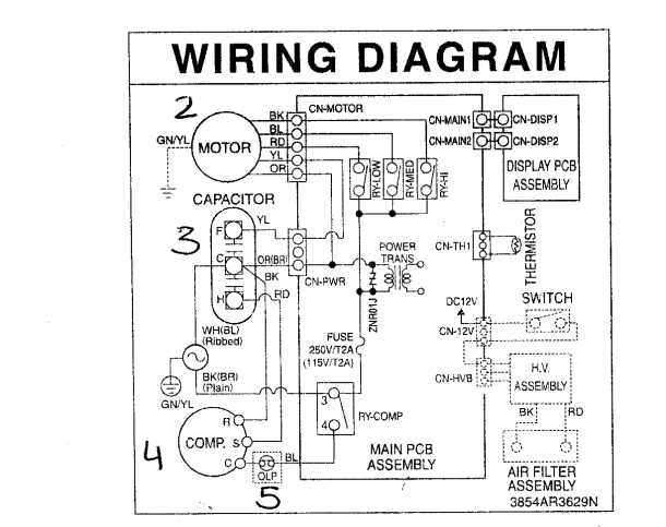 Wiring Diagram Or Schematic Electrical Diagram Thermostat Wiring Ac Wiring