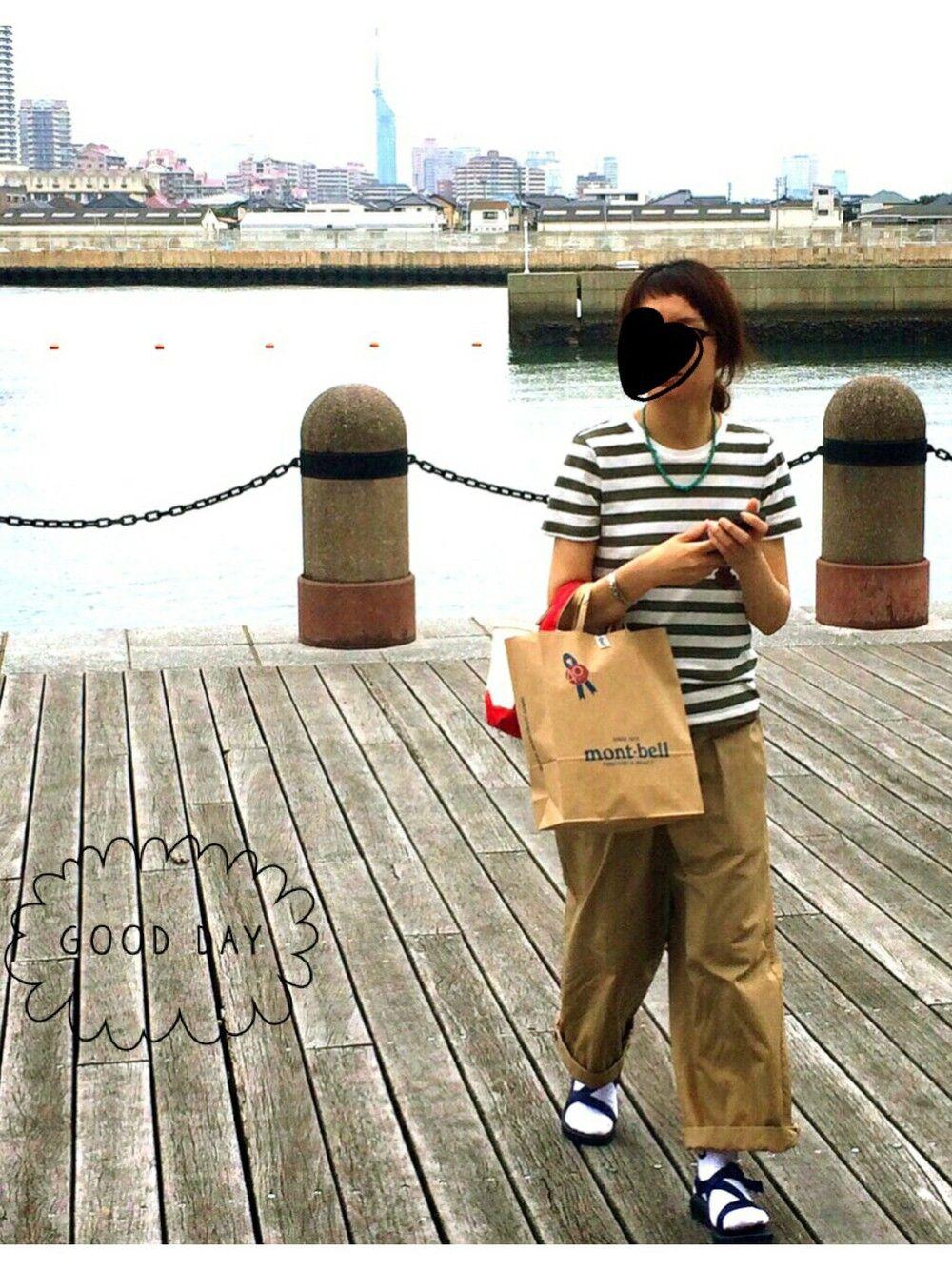 kimichan93|無印良品のTシャツ・カットソーを使ったコーディネート - WEAR