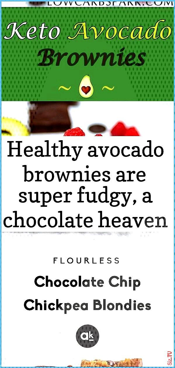Healthy avocado brownies are super fudgy a chocolate heaven full of healthy fats enjoy a low carb H