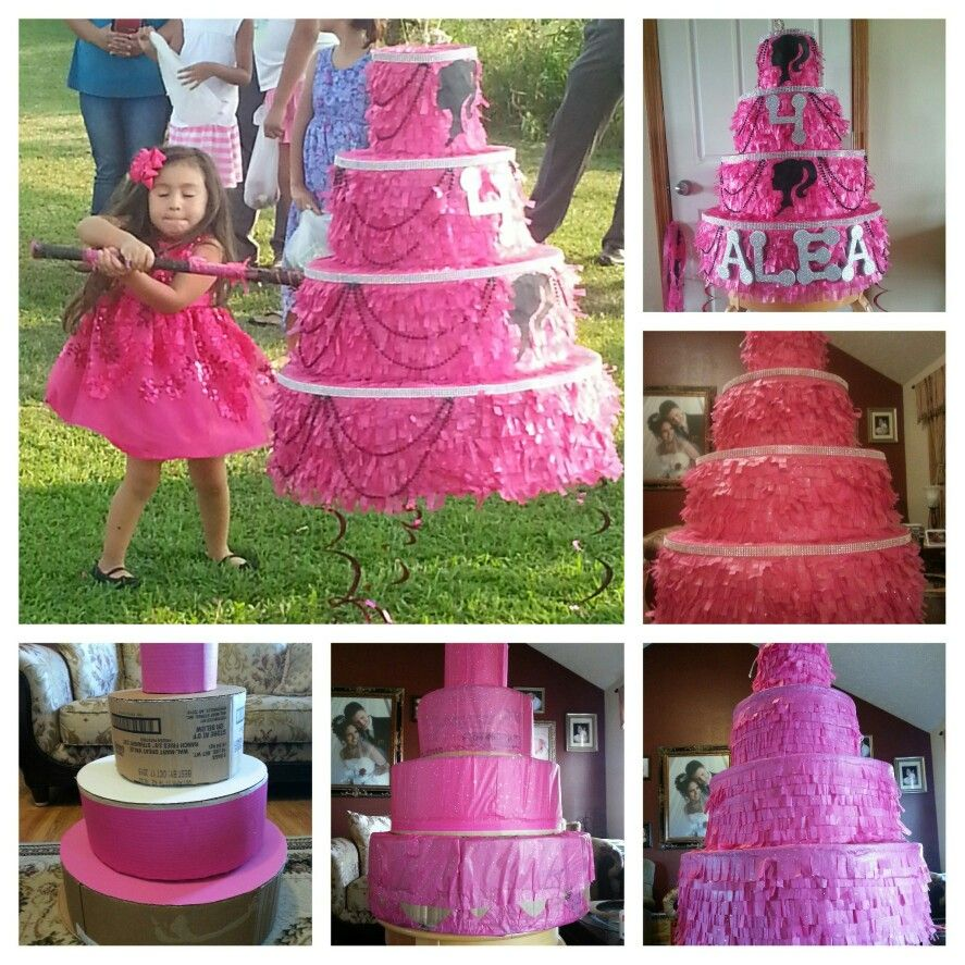 Barbie Cake Piñata!
