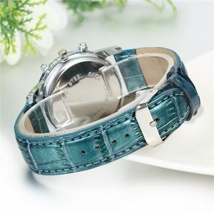 Relogio Masculino Leather Mens Kol Saat Quartz Wristwatches