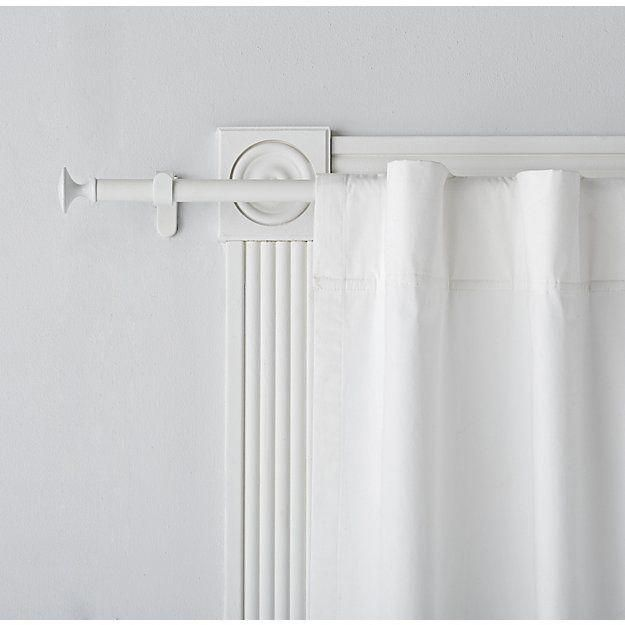 10 Curtain Rod Tbd Apartment With Images White Curtain Rod