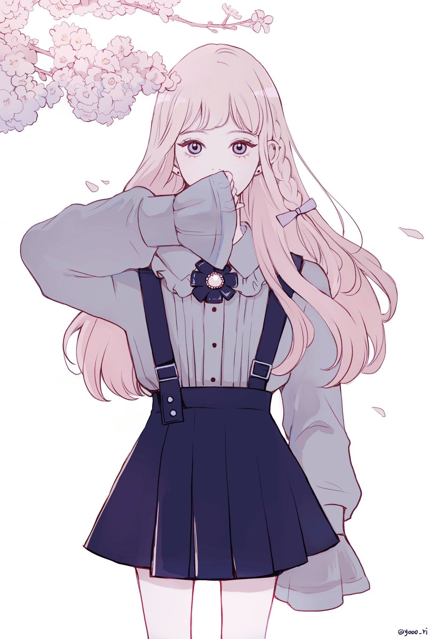 Süße Manga Mädchen