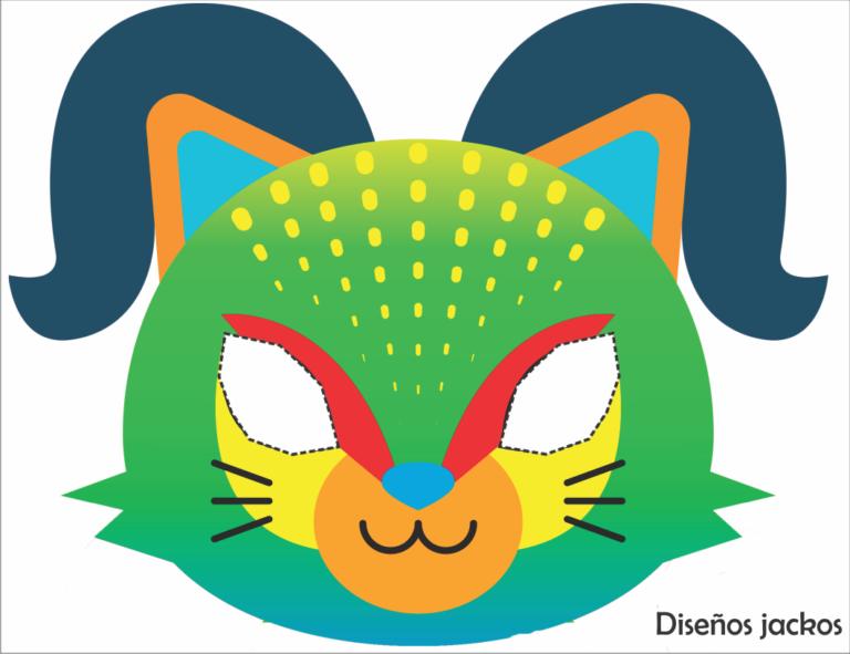 Máscaras de Halloween Infantis para imprimir em 2020