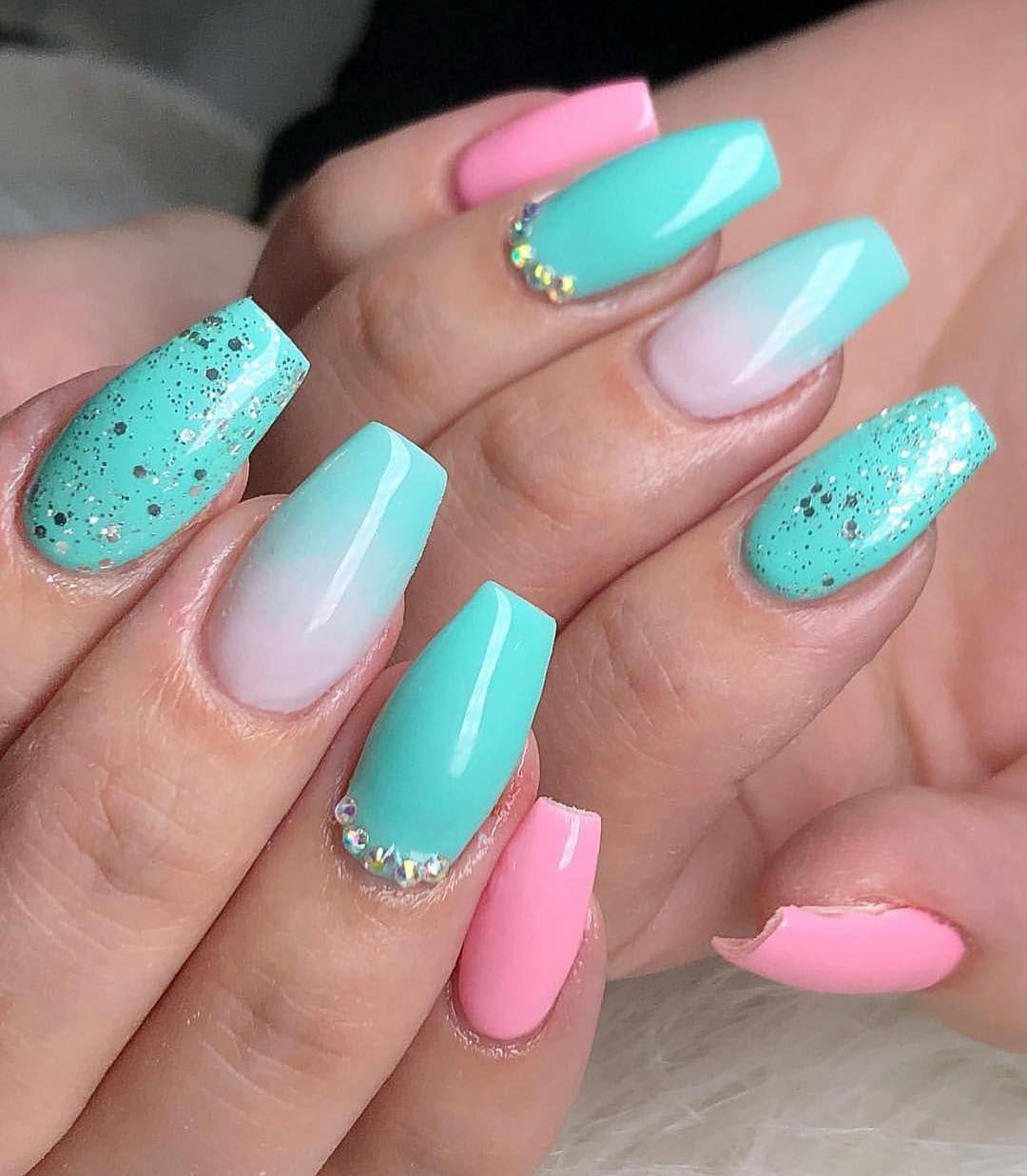 Beautiful chic and cheerful nail art designs