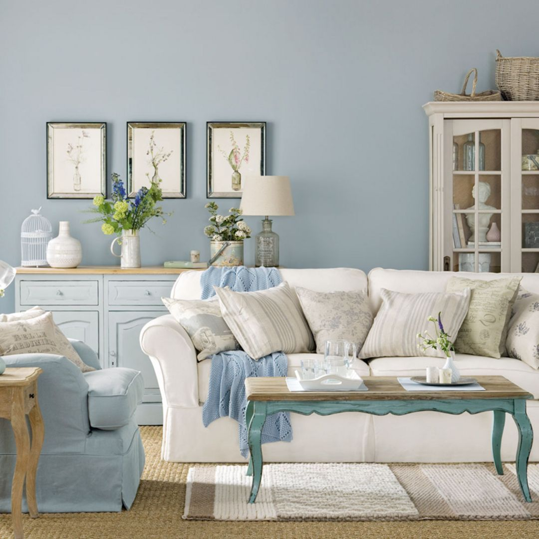 15 Shabby Chic Living Room Designs That Are Suitable For Your Minimalist Home