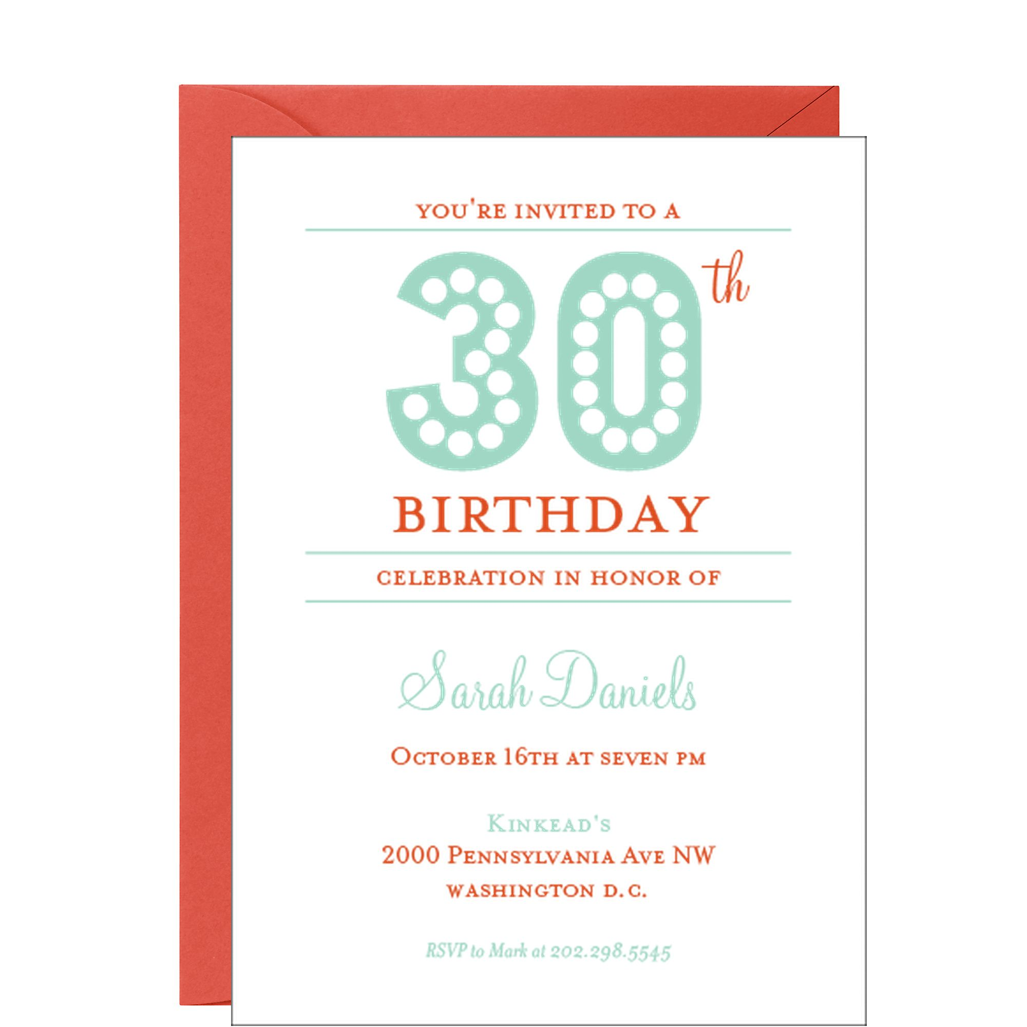 Adult Birthday Lights Party Invitation | RETRO FUN! | Pinterest ...