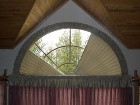 Soft Arches Moveable Drapery Arches By Omega Half Circle Window