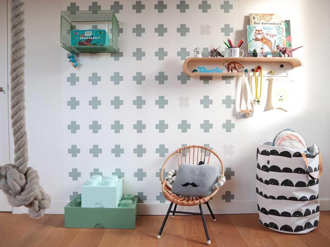 Uitstekend Stickers Babykamer : Muurstickers kinderkamer op maat gemaakt stickerkamer