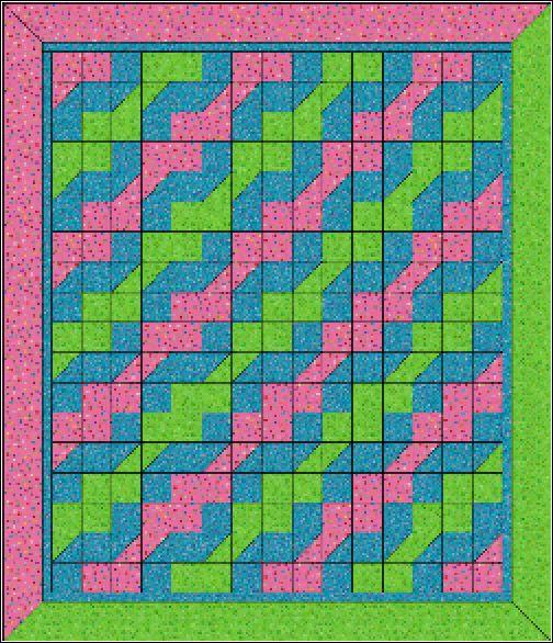 Quilt Patterns Using 5 Fabrics Hop Scotch Quilt Pattern 5 00
