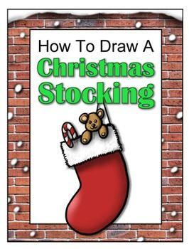 drawing with john presents how to draw a christmas stocking begin with a pencil