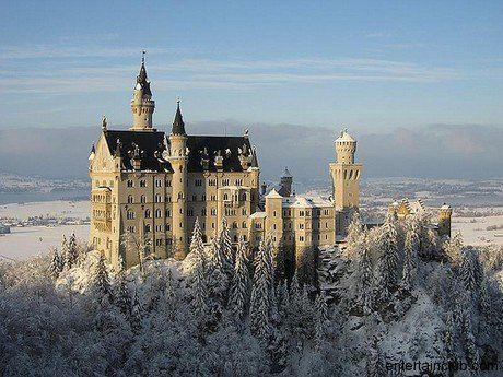 Castles Of The World Neuschwanstein Castle Germany Castles Famous Castles