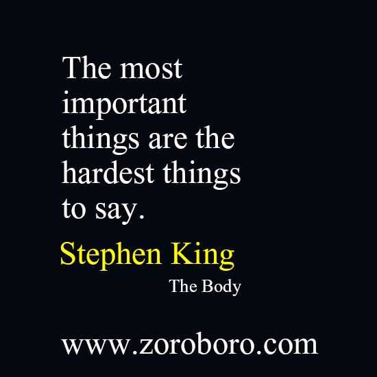 Stephen King Quotes