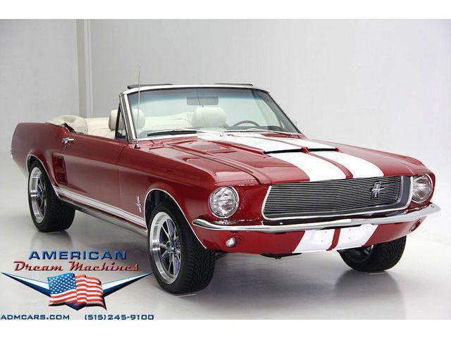 Ford Mustang Convertible Mustang Convertible Mustang 1967