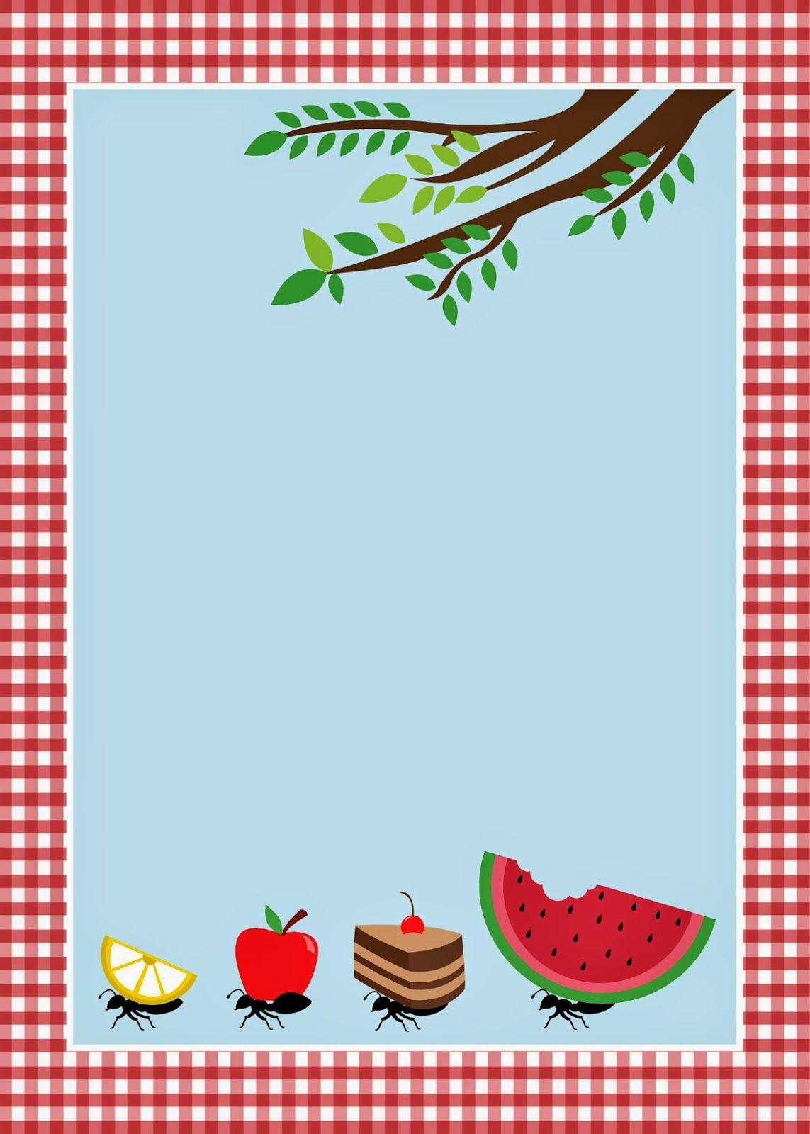 Февраля, открытки приглашения на пикник