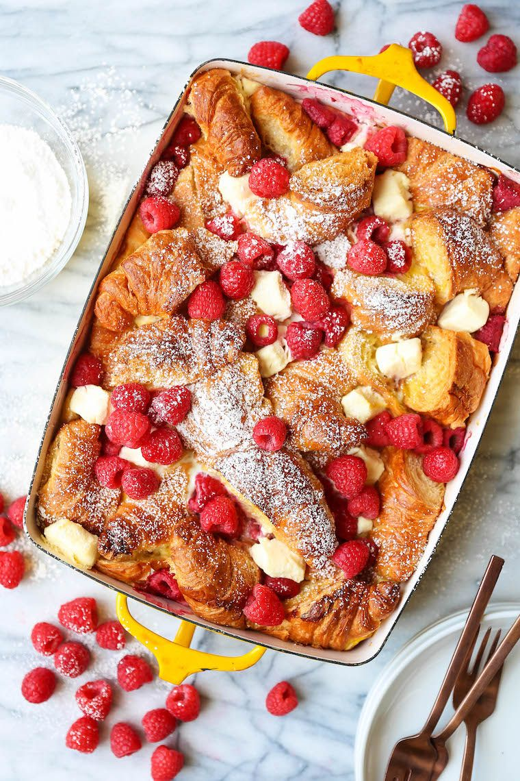 Photo of Raspberry Croissant French Toast Bake