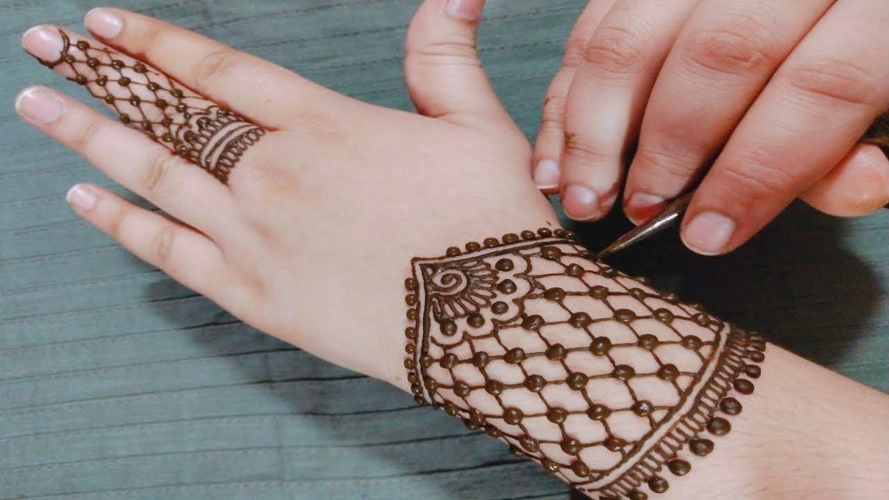 Most Beautiful Easy Mehndi Design For Hands New Mehndi Design