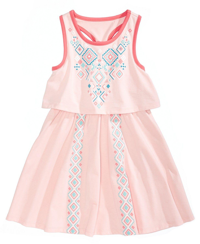a7bffd75b872 Epic Threads Popover Geo-Print Dress
