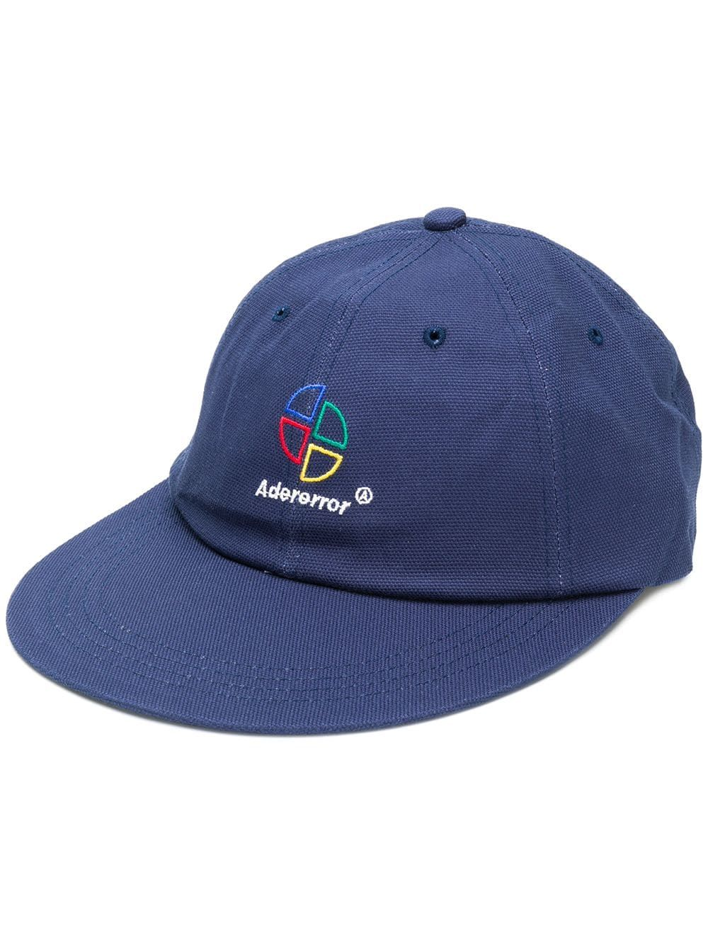 8949e6ae000f9 Ader Error embroidered straight peak cap