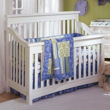 Bonavita Peyton Collection Lifestyle Crib In Classic White 400