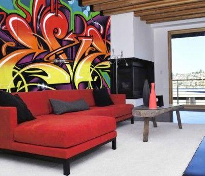 Home Graffiti Mural Stue Graffiti Room Graffiti Furniture Graffiti Wall Art