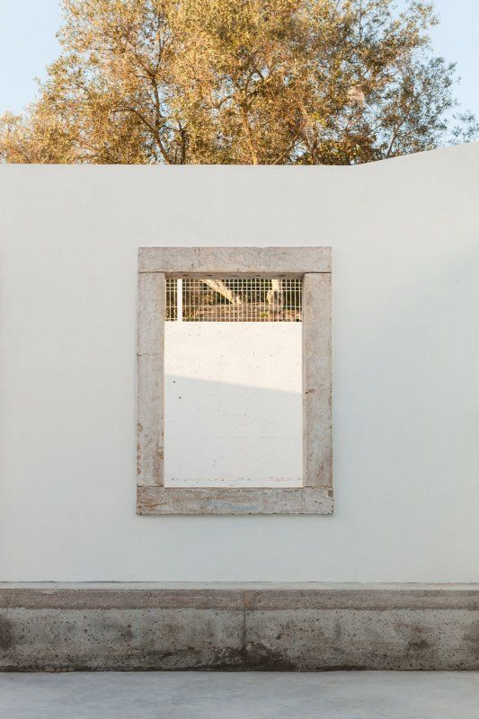 Concrete window frame. Terras 8 House by Cais | Architecture ...