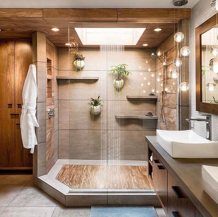 Ericka Queen Realtor On Instagram Create A Perfect Spa Experience For Relaxation W In 2020 Bathroom Interior Design Bathroom Shower Design Bathroom Remodel Designs