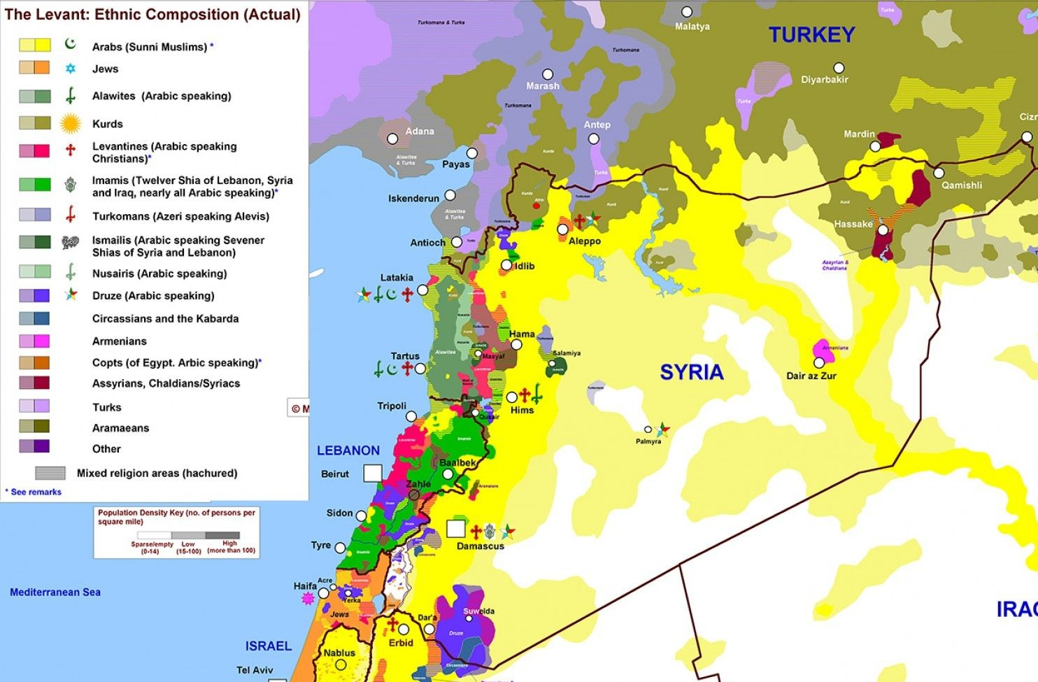 The one map that shows why syria is so complicated syria the one map that shows why syria is so complicated gumiabroncs Gallery