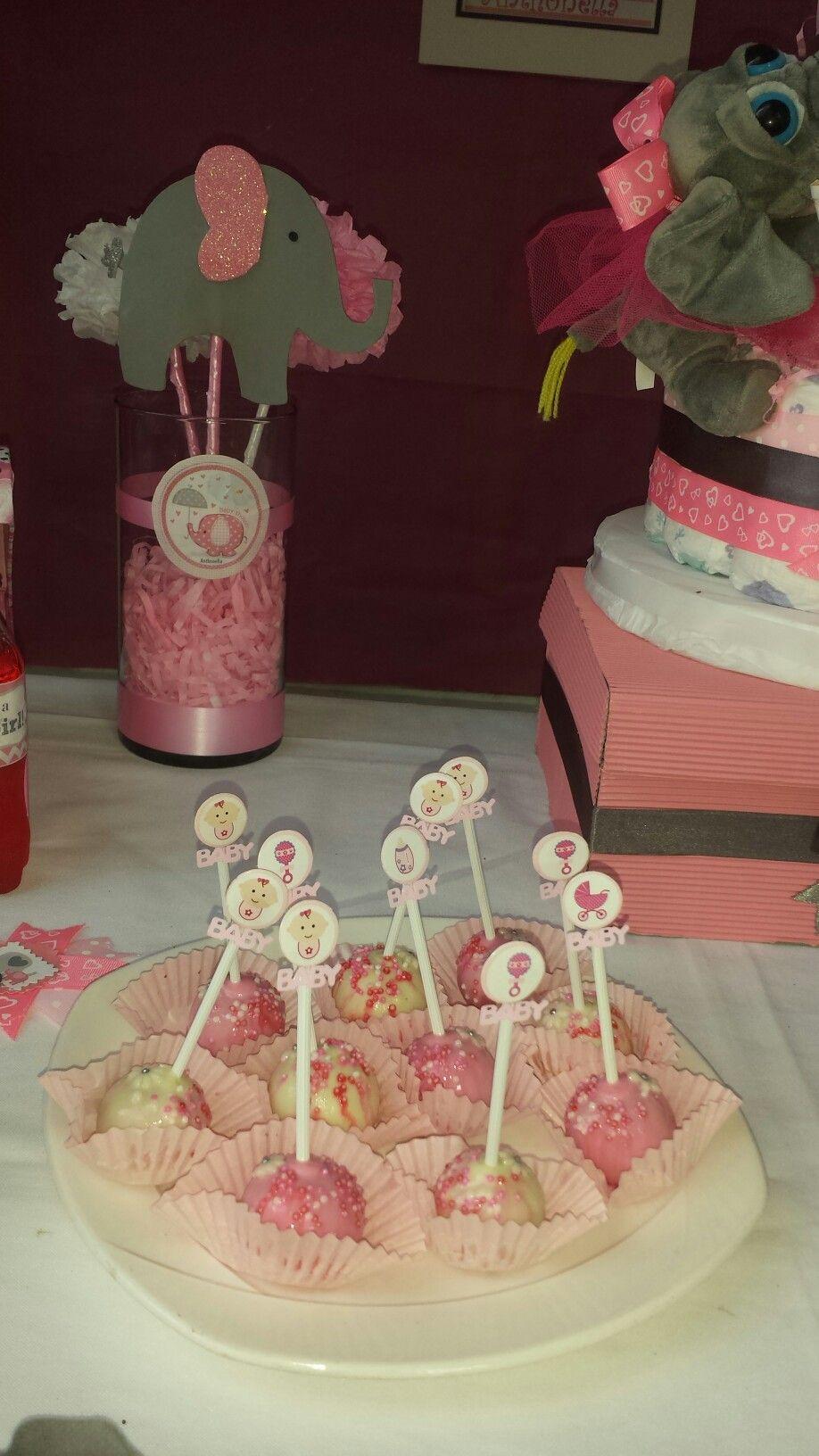 Cake pops - baby shower