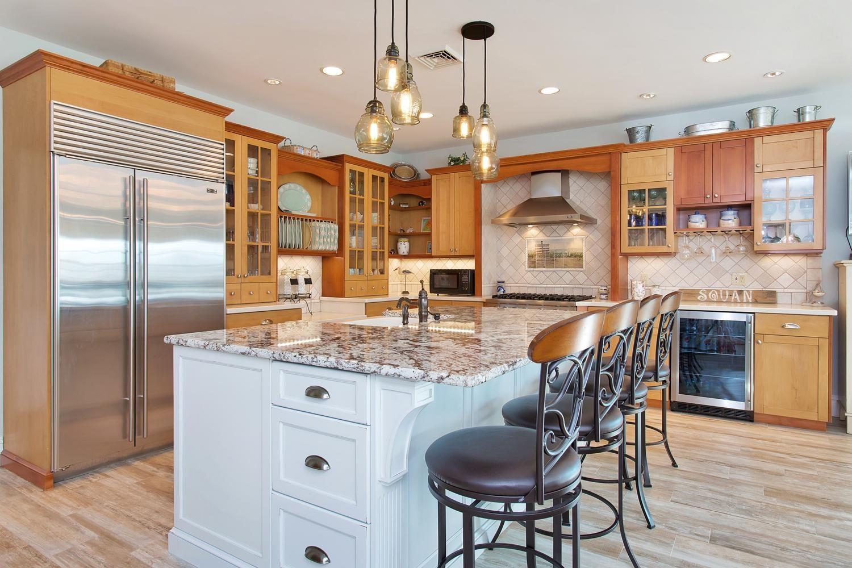 Polished to Perfection Multi Tone Kitchen Manasquan New