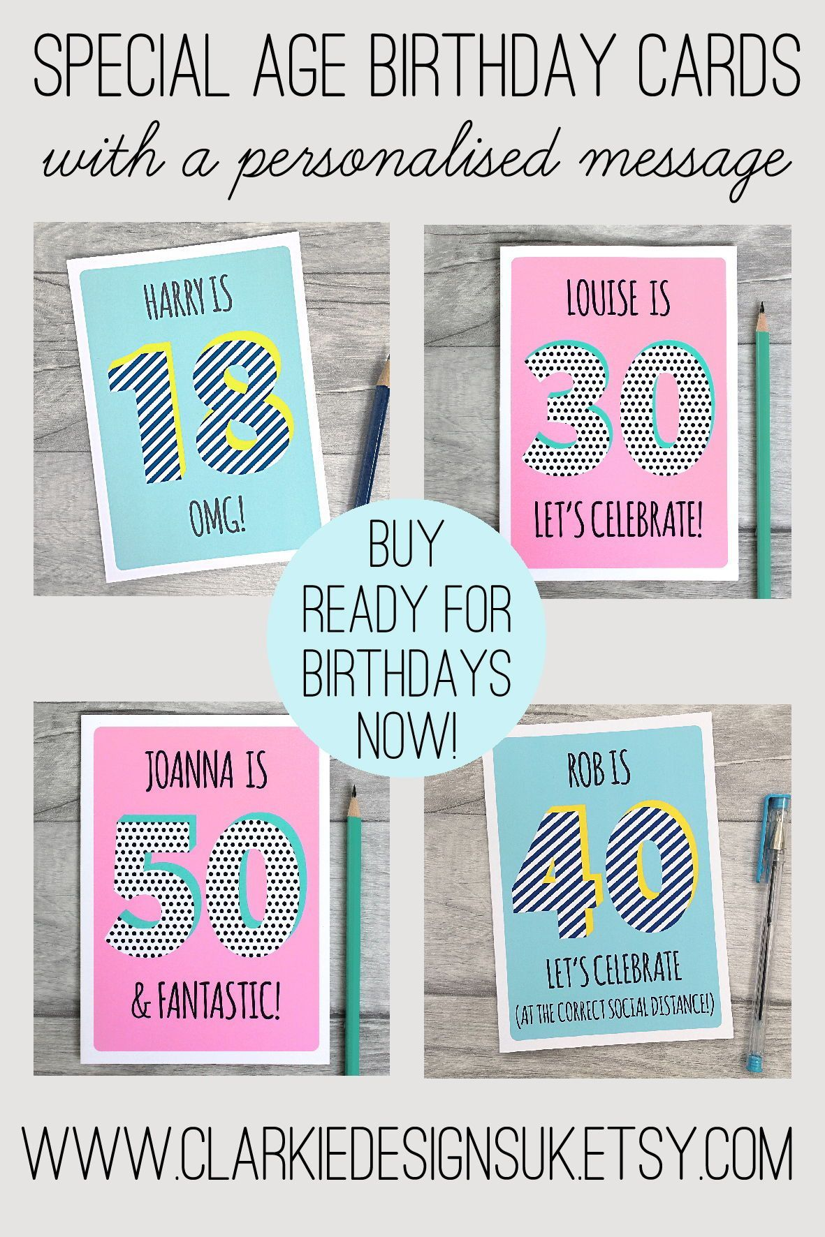Personalised Birthday Cards Personalized Birthday Cards 18th Birthday Cards Birthday Cards