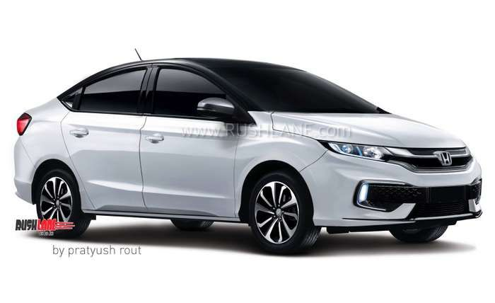 Honda City 2020 India Concept Specs Honda City New Honda Honda