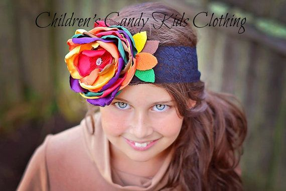Thanksgiving Baby Persnickety Fall Headband by