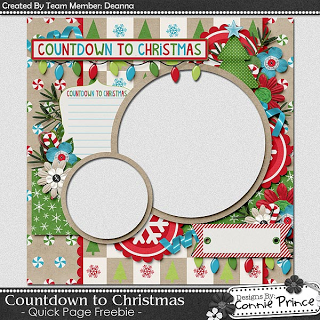 Saturday's Guest Freebies ~ Connie Prince  ♥♥Join 2,900 people. Follow our Free Digital Scrapbook Board. New Freebies every day.♥♥